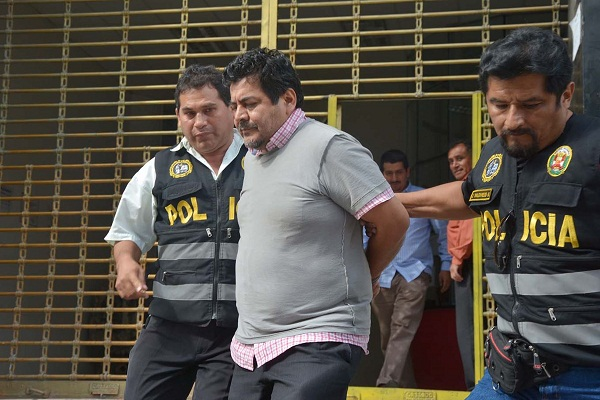 Prisión preventiva para Edwin Luyo por caso Odebrecht