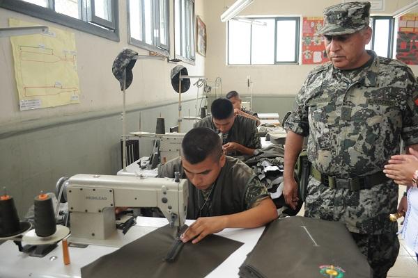 Inauguran obras en Instituto Tecnológico del Ejército