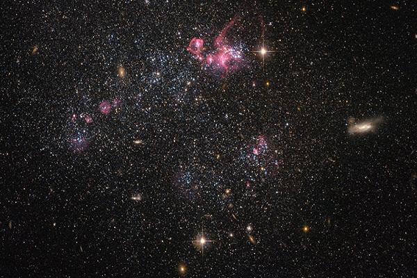 Descubren una galaxia que contradice el Modelo Estándar de la Física de Partículas