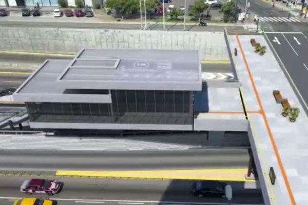 Metropolitano: Se inició la construcción de la estación Andrés Reyes