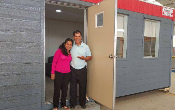 Evangelina Chamorro ya cuenta con casa antidesastres