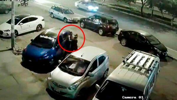 Fiscalía denuncia a ex mayor PNP que agredió a su esposa