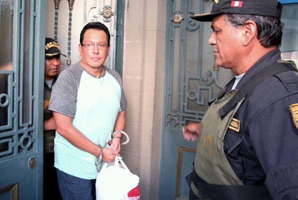 Poder Judicial del Callao condenó a Félix Moreno a nueve años de prisión efectiva