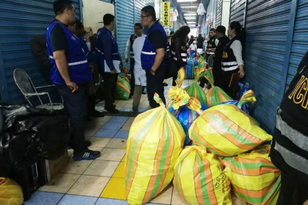 Cercado de Lima: PNP incauta 2.5 toneladas de productos farmacéuticos adulterados