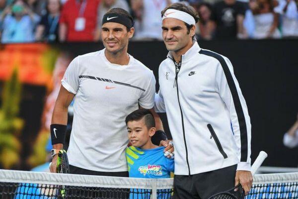 Rafael Nadal y Roger Federer rumbo a la cima