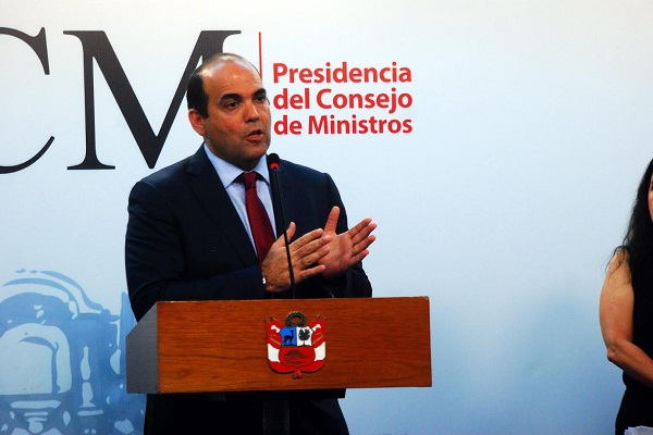Jefe del Gabinete asistirá a Foro Económico Mundial y reuniones de OCDE