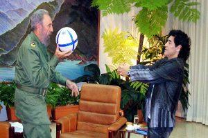 """Maradona: """"Fidel fue como mi segundo padre"""""""