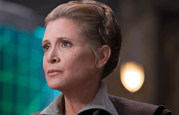 Carrie Fisher vuelve a 'Star Wars'