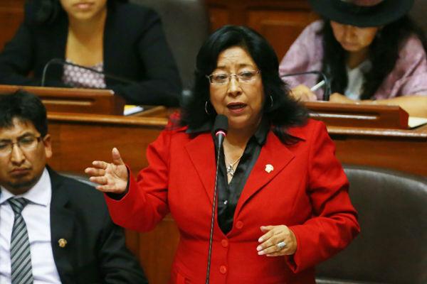 María Elena Foronda espera igualdad de sanciones con colegas acusados por corrupción