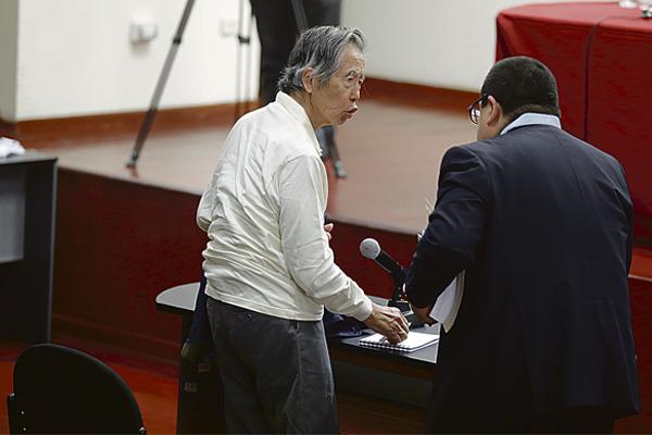 """Alberto Fujimori: """"No tengo intención de viajar"""""""