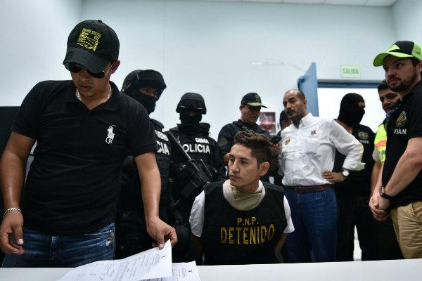 Gerald Oropeza: Juez prolongó por 18 meses su prisión preventiva