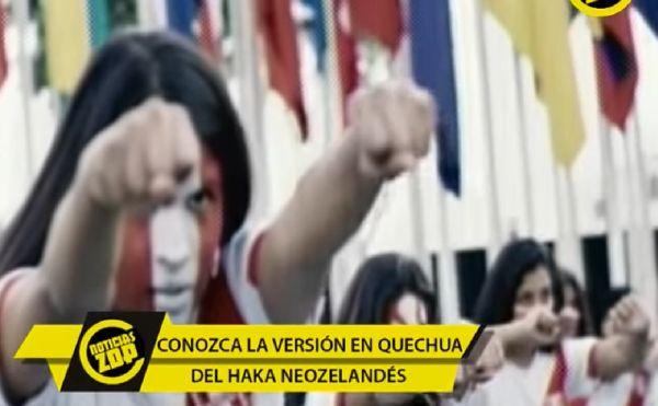 Perú vs. Nueva Zelanda: 'Haka' en quechua se vuelve viral