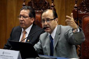 Caso Odebrecht: Hamilton Castro pide prisión preventiva porque hay peligro de fuga por parte los implicados