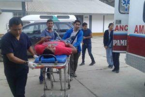 Huánuco: Cuatro personas fallecieron tras volcadura de vehículo a un abismo