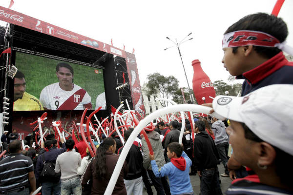 Perú vs. Francia: Conoce los lugares donde podrás ver el partido en pantalla gigante