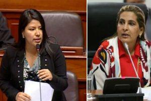 Maritza García: Indira Huilca arremete contra parlamentaria