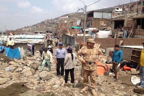 Unas 3,500 personas están incomunicadas en Arequipa
