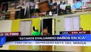 """Minsa: """"Estamos evaluando daños en Ica"""" [FOTOS]"""