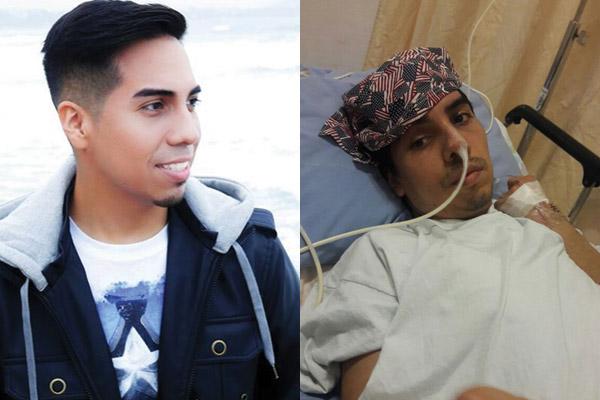Joven postrado en hospital desde hace 6 meses por arrollo de ómnibus