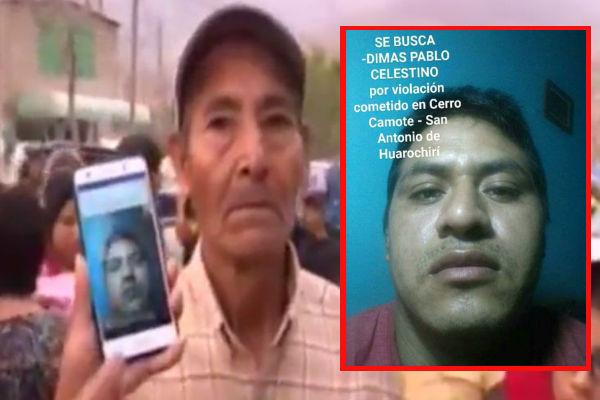 Jicamarca: Presunto asesino salió a comprar almuerzo y jamás regresó