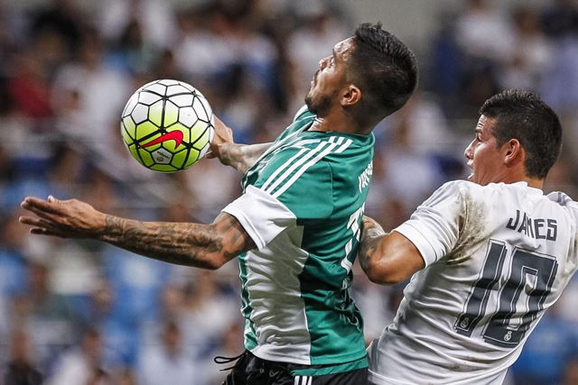 Real Madrid metió cinco al Betis de Vargas