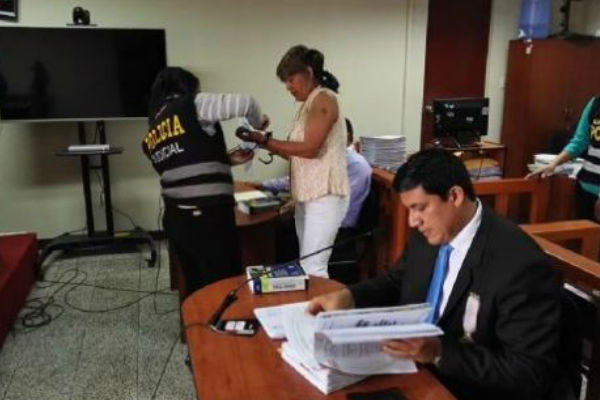 Chimbote: Mujer que mató a juez es condenada a 25 años de prisión