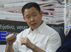 """Kenji Fujimori: """"Debe haber una reestructuración en Fuerza Popular"""""""
