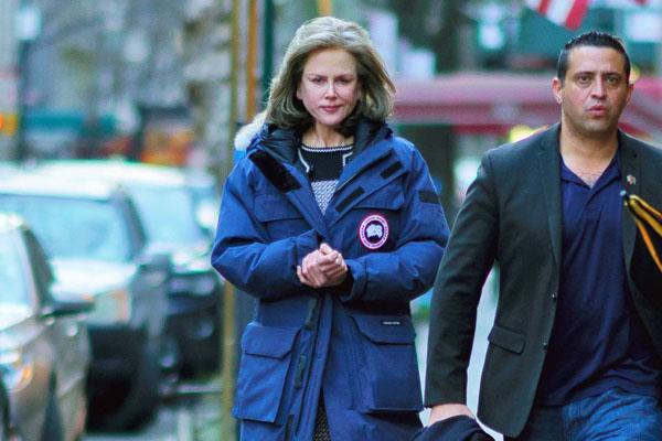 Nicole Kidman luce irreconocible