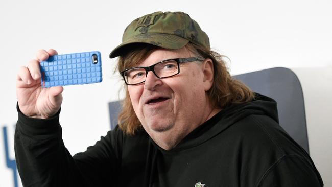 Michael Moore quiso hablar con Donald Trump