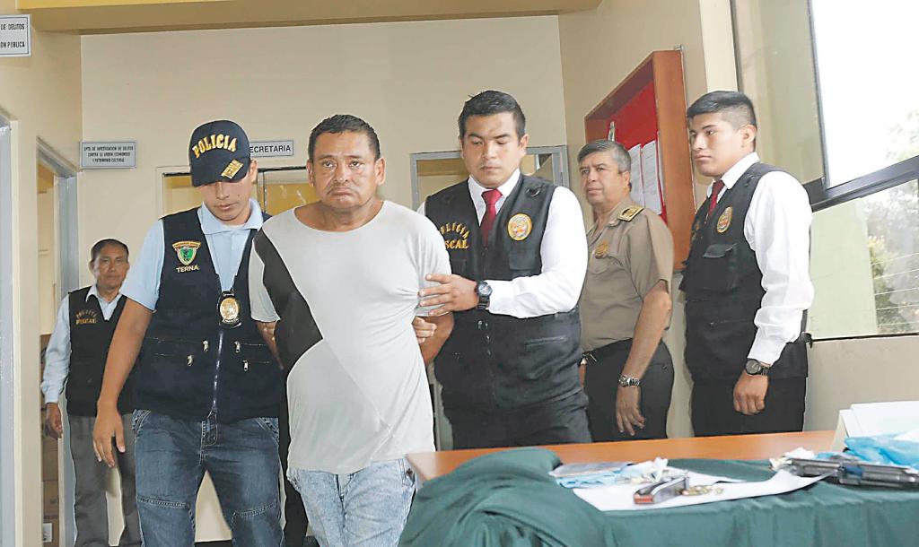 Policía recupera contenedor valorizado en 350,000 soles