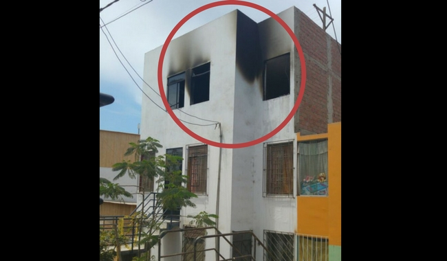 Celoso quema casa de su conviviente