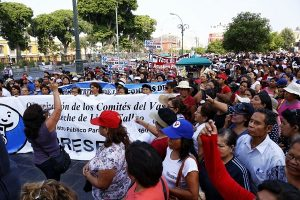 Cercado de Lima: Ganaderos realizan protesta en rechazo a Proyecto de Ley