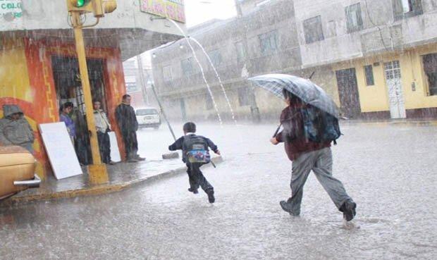 Desde hoy habrá intensas lluvias en la sierra norte