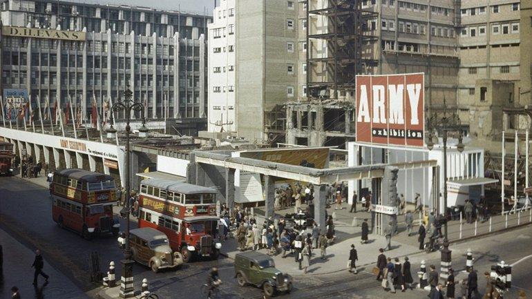 Londres devastada en II Guerra Mundial (fotos)