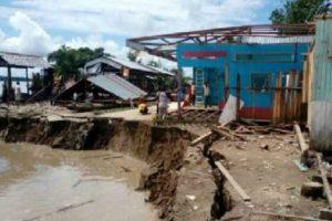 Loreto: Erosión fluvial deja 7 familias damnificadas