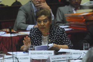 """Luz Salgado: """"Marchan azuzados porque les interesa un bledo la democracia"""""""