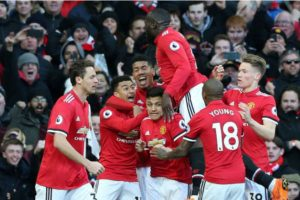Manchester United ganó de local al Chelsea
