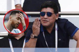 """Diego Maradona: """"Después de Lionel Messi somos un equipito más"""" [VÍDEO]"""