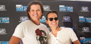 Marc Anthony y Carlos Vives juntos en Lima