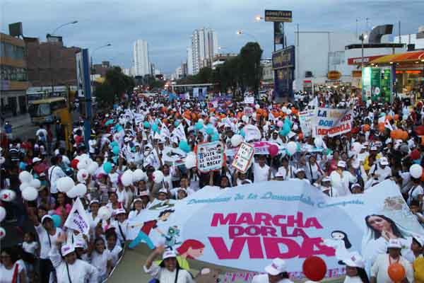 Una multitud marchará para defender la vida