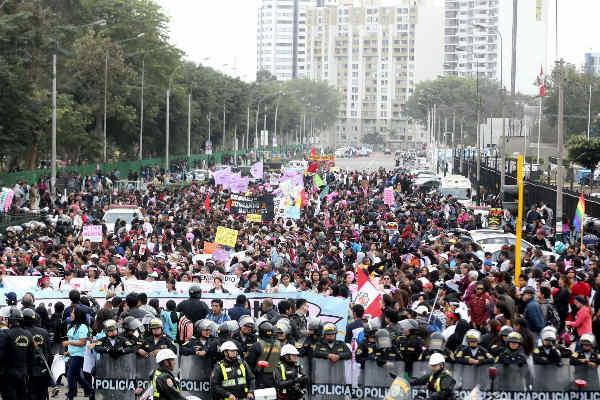 Marcha Ni Una Menos: Mujeres protestarán hoy en contra la corrupción