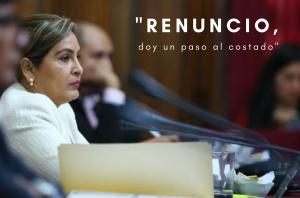 Maritza García renunció a la presidencia de la Comisión de la Mujer