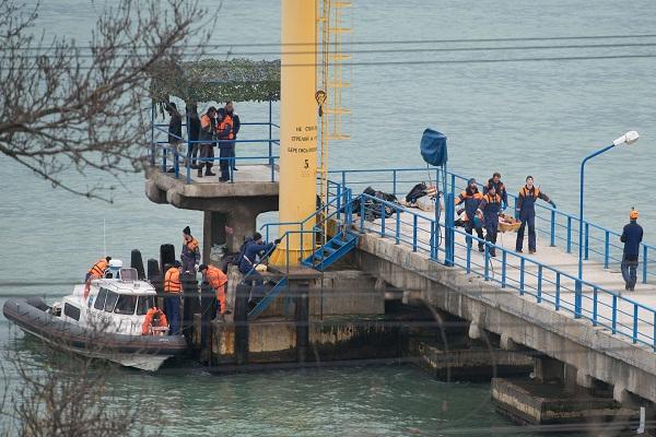 Tragedia aérea en el mar Negro enluta a Rusia