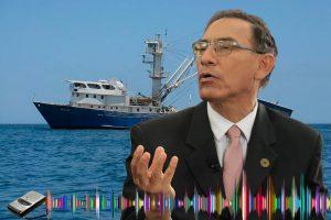 Audio vincula a Martín Vizcarra con 'narcobuque'