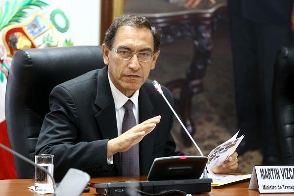 Martín Vizcarra: «Hay que lograr una sociedad donde se respete igual a hombres y mujeres»