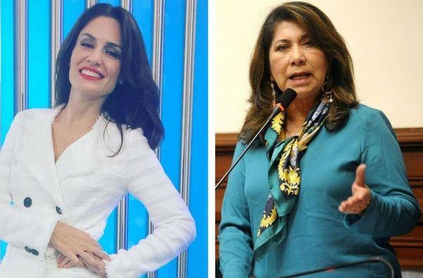 Mávila Huertas y Martha Chávez protagonizaron acalorado debate