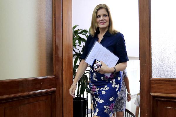 Mercedes Aráoz viaja a Foro Económico Mundial