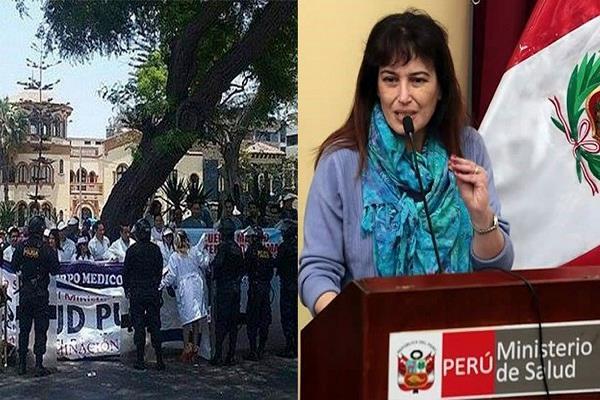 Silvia Pessah: Cuerpo Médico del Minsa rechaza su designación como ministra de Salud