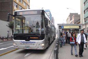 Los operadores del Metropolitano exigen S/ 230 mllns