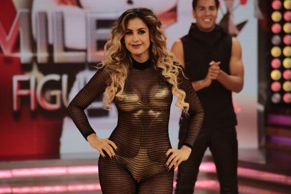 'El gran show': Milett Figueroa derrocha sensualidad